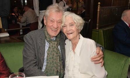 Ian McKellen and Sheila Hancock