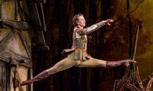 Vadim Muntagirov (Albrecht) in Giselle by The Royal Ballet at the Royal Opera House.