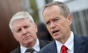 Brendan O'Connor and Bill Shorten