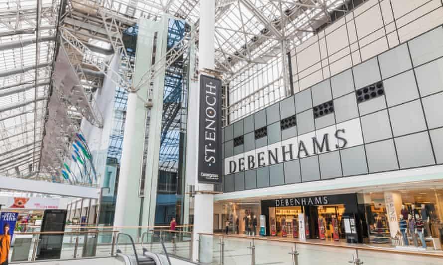 St Enoch shopping centre in Glasgow