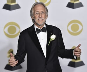 Neil Portnow at last weekend's 60th annual Grammy Awards at Madison Square Garden, New York.