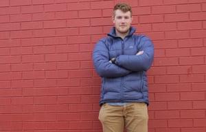Former Save the Children worker Tobias Gunn