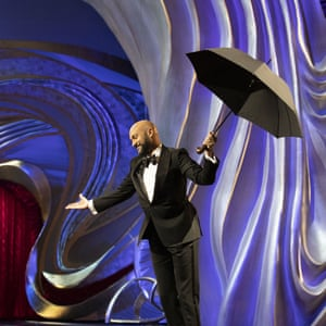 Keegan-Michael Key in Mary Poppins mode.