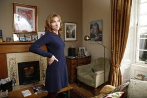 Polly Clark at home on Scotland's west coast.