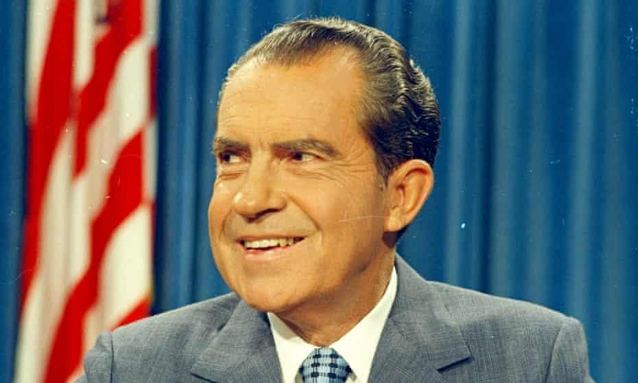 President Richard Nixon in 1970