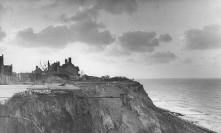 Overstrand, near Cromer, taken a few years after the 1953 floods.