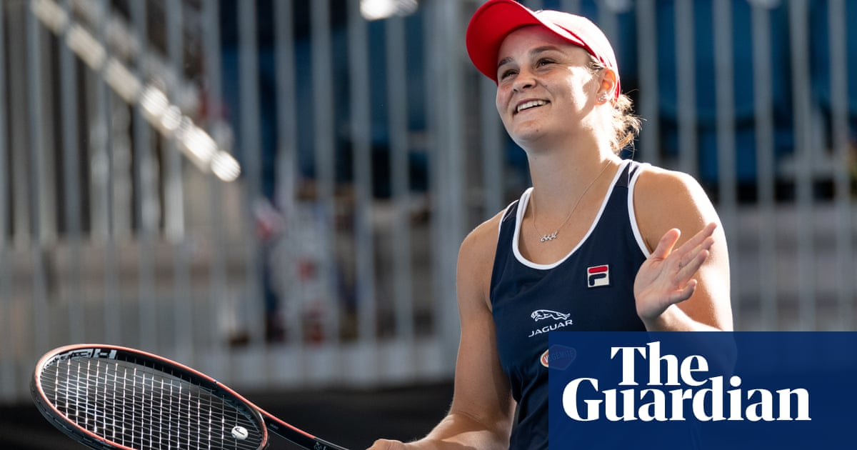 Ash Barty wins Adelaide International for first home WTA title - The Guardian image