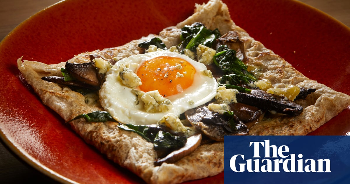 David Atherton S Recipe For Buckwheat Pancakes Food The Guardian
