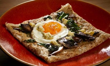 David Atherton's recipe for buckwheat pancakes