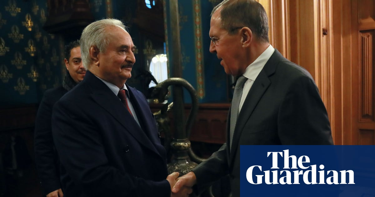 Libyan warlord Haftar leaves Moscow without signing ceasefire deal