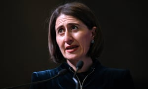The NSW premier, Gladys Berejiklian