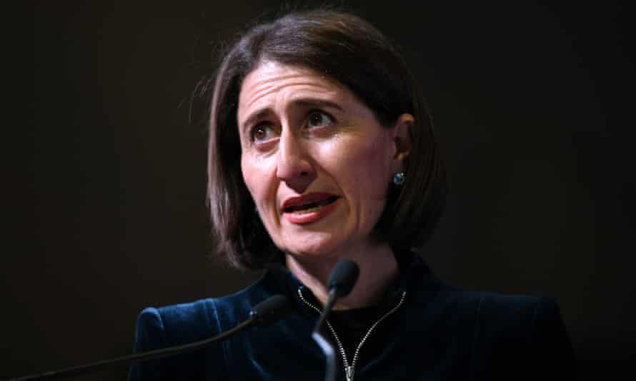 The NSW premier, Gladys Berejiklian