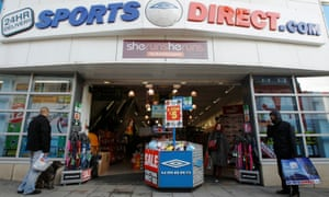 A branch of Sports Direct in Brighton.