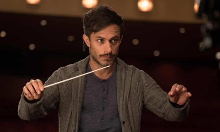 Bernal as the conductor Rodrigo