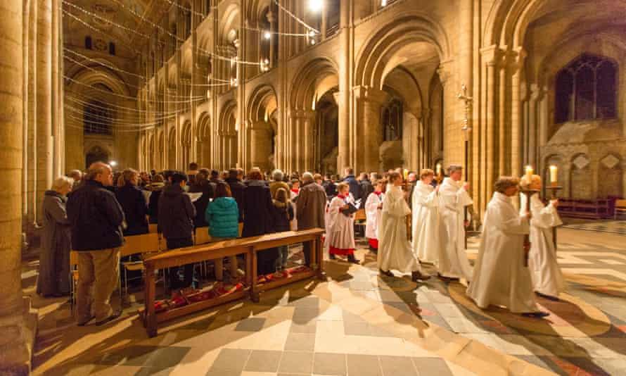 carol service at eley cathedral