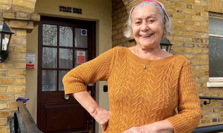 Rosario, a former flamenco dancer, at Brinsworth House care home