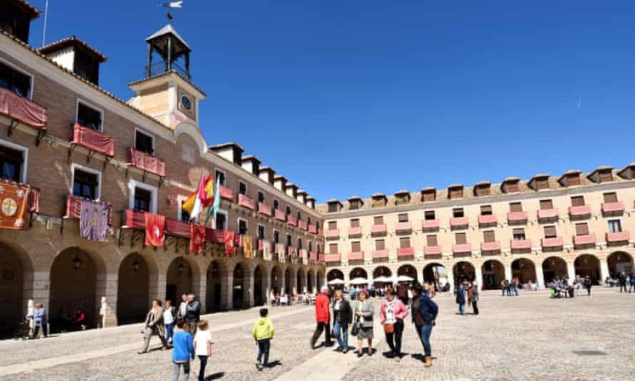 The main square in Ocaña.