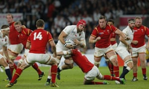 James Haskell surges forward
