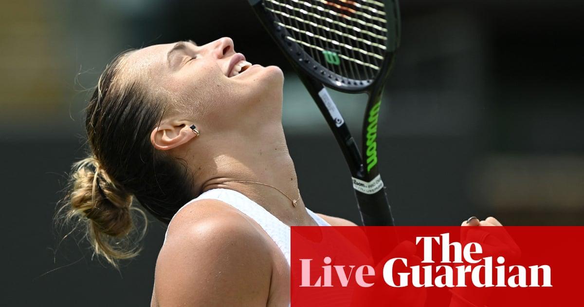 Wimbledon: Barty and Djokovic in action, Jabeur sinks Swiatek – live!
