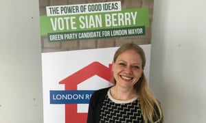 Sian Berry Green Party London Mayor candidate 2016