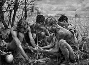 Genesis, San people (Bushmen), Botswana, 2008.