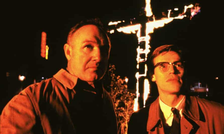 Gene Hackman and Willem Dafoe in the 1988 film Mississippi Burning.