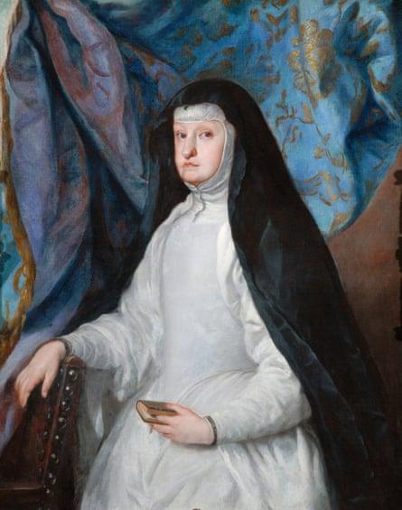 Mariana of Austria, Queen of Spain, 1683-93, by Claudio Coello.