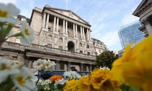 The Bank of England building