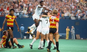 Pele's New York Cosmos drew in huge crowds but, eventually, the NASL could not sustain itself