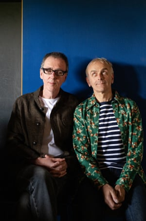 Rick Smith (left) and Karl Hyde