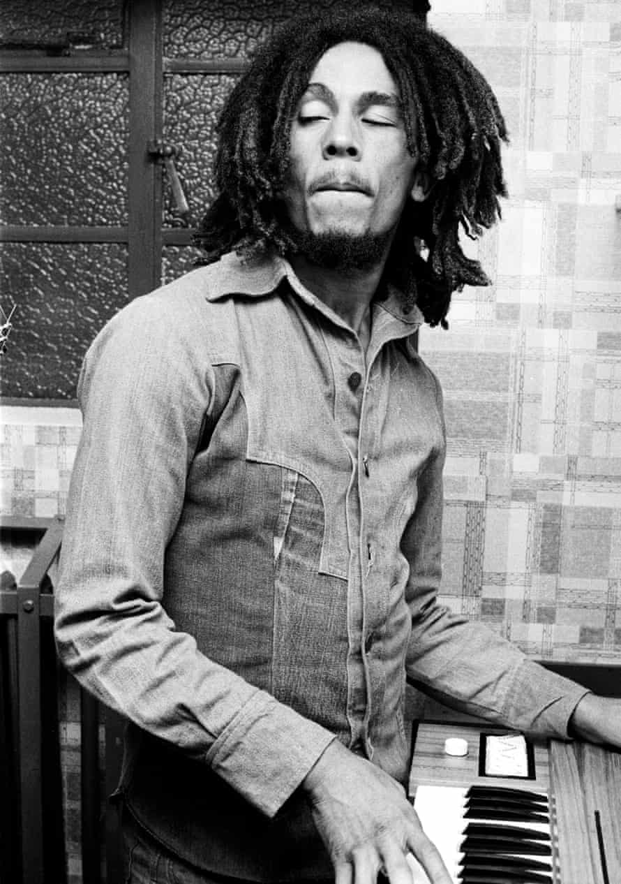Bob Marley, whom Pascall interviewed in the 1970s.