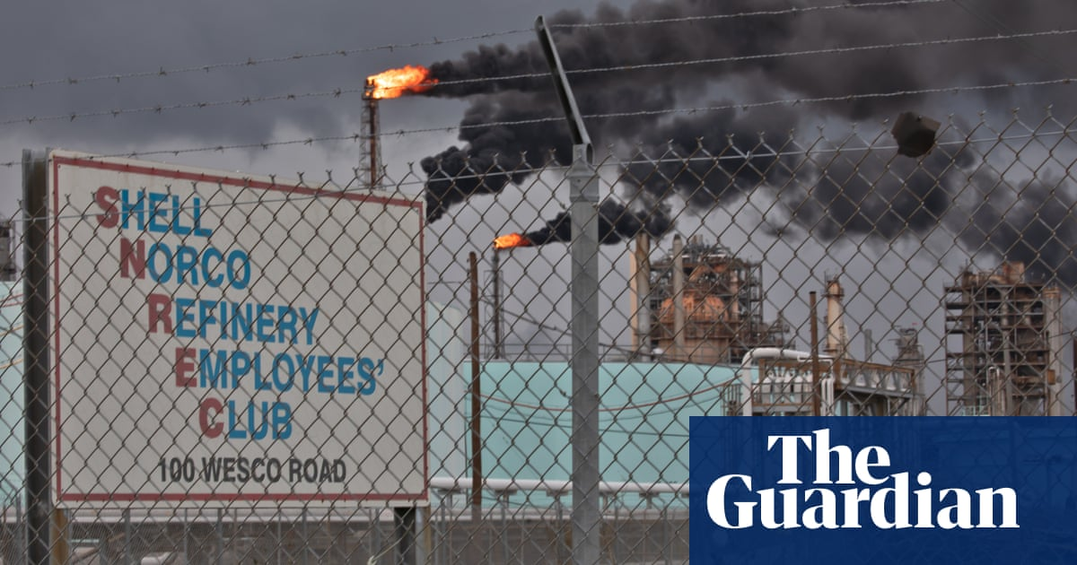Louisiana Shell refinery left spewing chemicals after Hurricane Ida