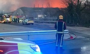 Tyseley warehouse fire