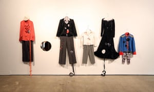 Costumes from Alice Creischer's To Camille B. (2016) at the Institute of Modern Art in Queensland