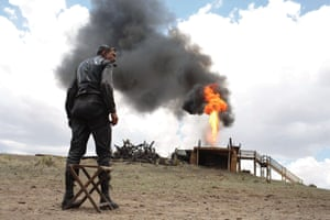 Daniel Day-Lewis as Daniel Plainview in There Will Be Blood.