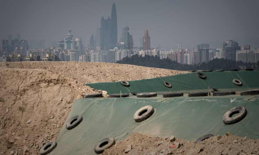 China produces more construction waste than any other country.