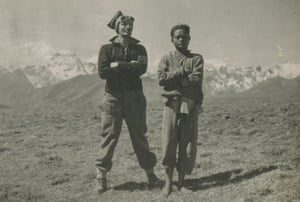 Harry in Tibet in 1942, from Harry Birrell Presents Films of Love and War