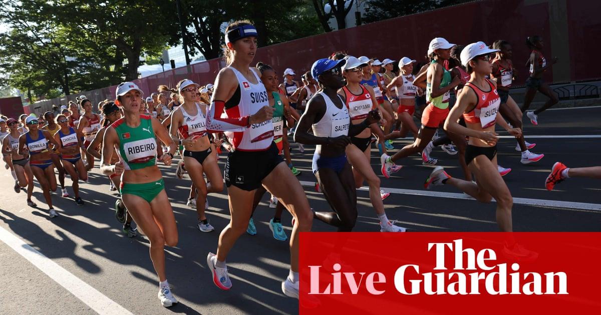 Tokyo 2020 Olympics: Kenya's Jepchirchir wins marathon, plus diving, boxing and more – live!