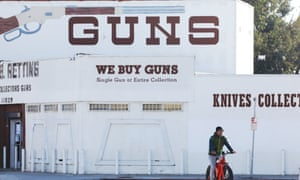 A gun shop in Culver City, California, was ordered to close in an effort to stop the spread of Covid-19.