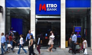 A Metro Bank branch