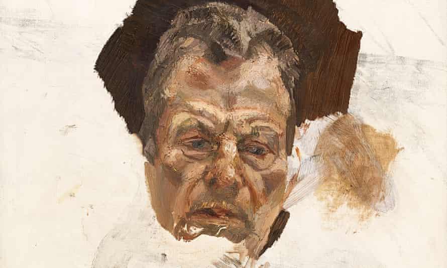 Lucian Freud self-portrait
