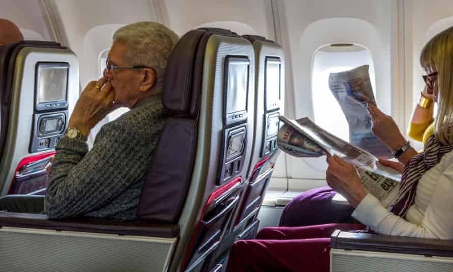 premium economy on virgin atlantic flight