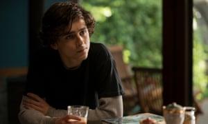 Timothée Chalamet in Beautiful Boy.