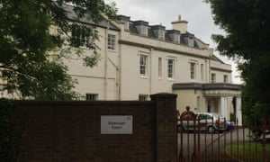 Mendip House, part of Somerset Court, where the abuse took place.