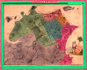 Rio de Janeiro, Brazil, circa 1831