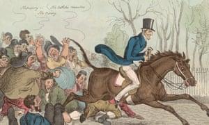 An 1829 cartoon by William Heath