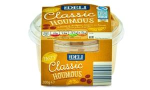 Aldi, the Deli classic houmous.