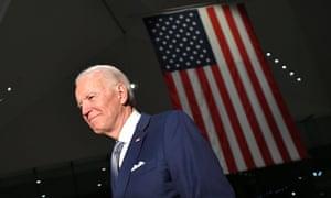 'The blinders have been taken off,' Joe Biden has said, by the coronavirus pandemic.