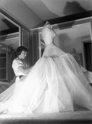 Inside the ateliers of the House of Dior c. 1950