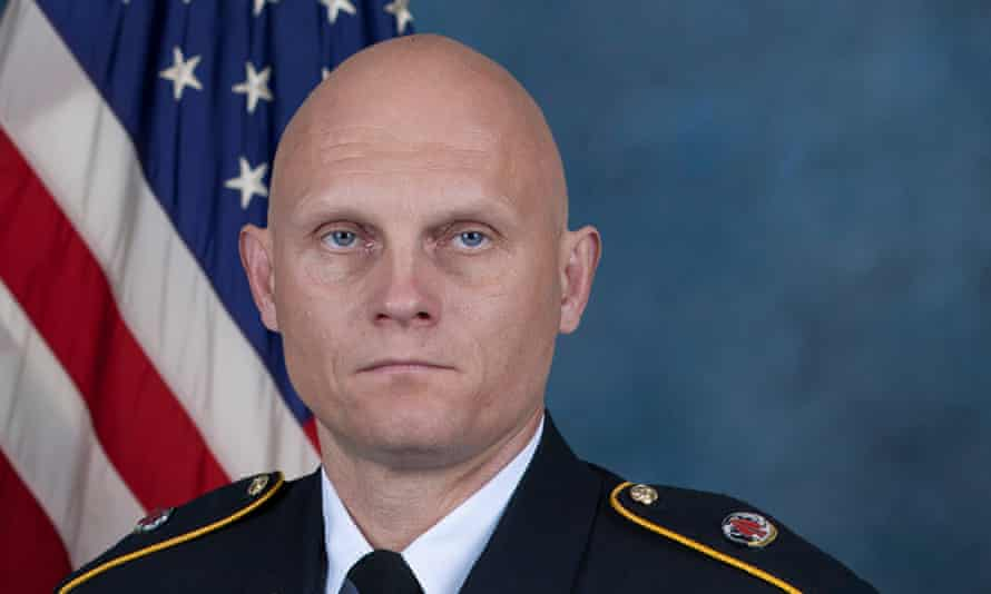 Master Sgt Joshua L Wheeler was assigned to the US Army Special Operations Command in Fort Bragg, North Carolina.